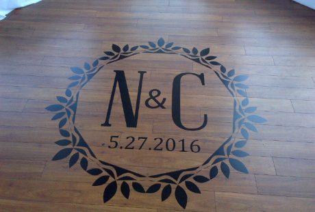 Wedding Floor Decal