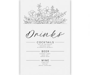 Bar Menu Option 10