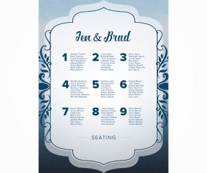 Seating Chart Option 4