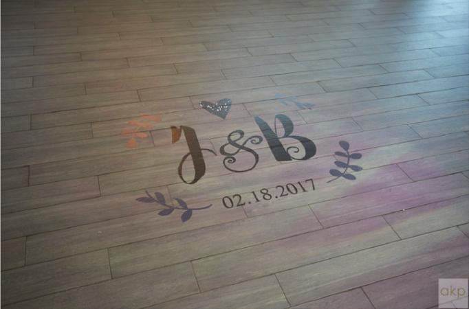 Incorporating Colour Into Your Wedding Dance Floor Decals Best