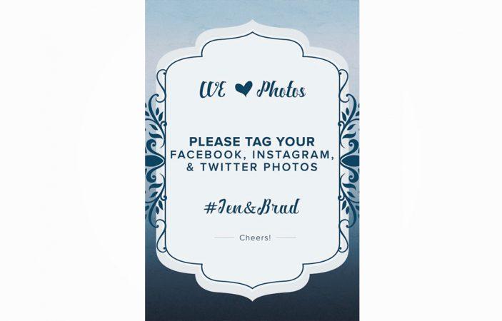Social Media Sign Option 4