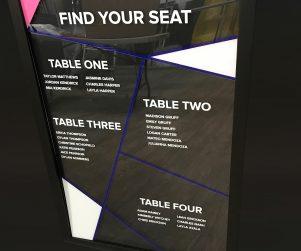 Seating Chart Option 1
