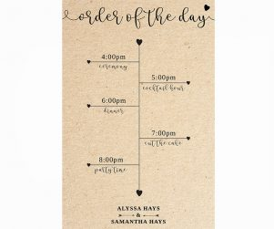 Order of Events Option 12