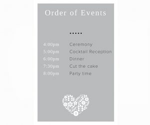Order of Events Option 14
