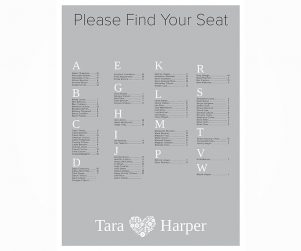 Seating Chart Option 14