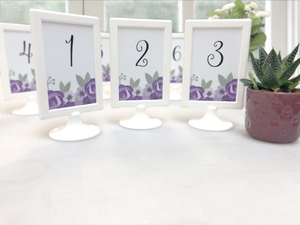 Easels as Wedding Décor Rentals